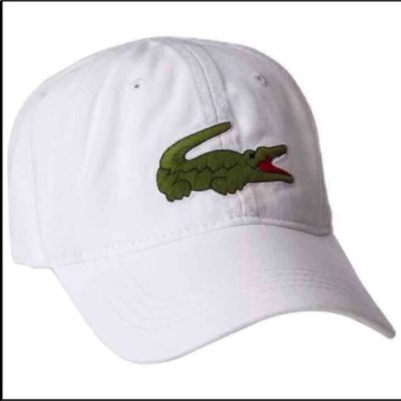 Lacoste Other - New Lacoste Unisex White Hat Cap